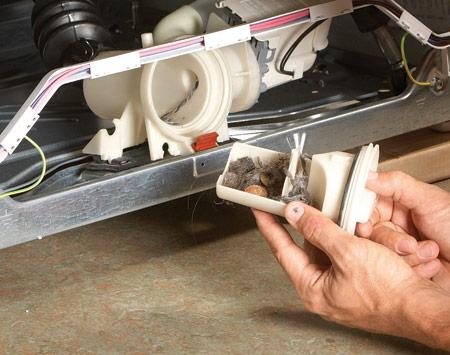 Стиральная машина не сливает воду: причины и устранение