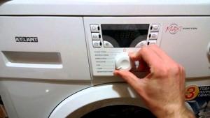 Ошибка F3 стиральной машины Атлант