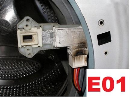 Ошибка Е01 стиральной машины Канди: значение и устранение